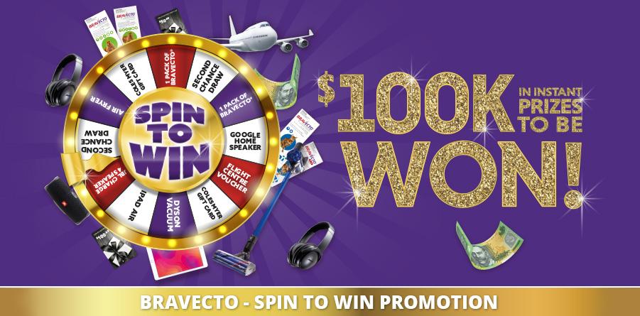 Macarthur Vet Bravecto Spin to Win 1